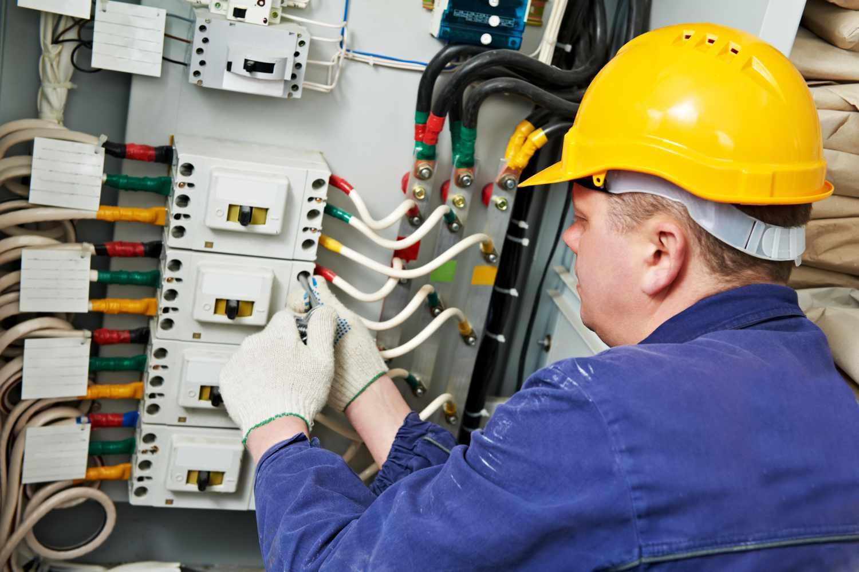 Работы по электроснабжению