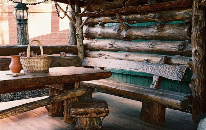 Виды деревянных беседок
