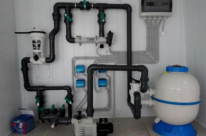 Фильтрация и хлорирование воды в бассейне 2