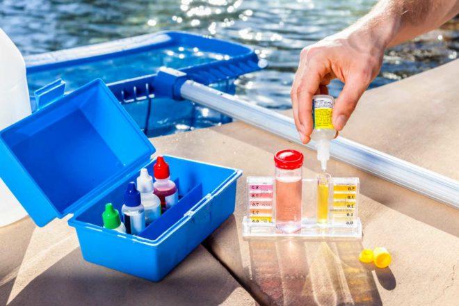 Фильтрация и хлорирование воды в бассейне 1