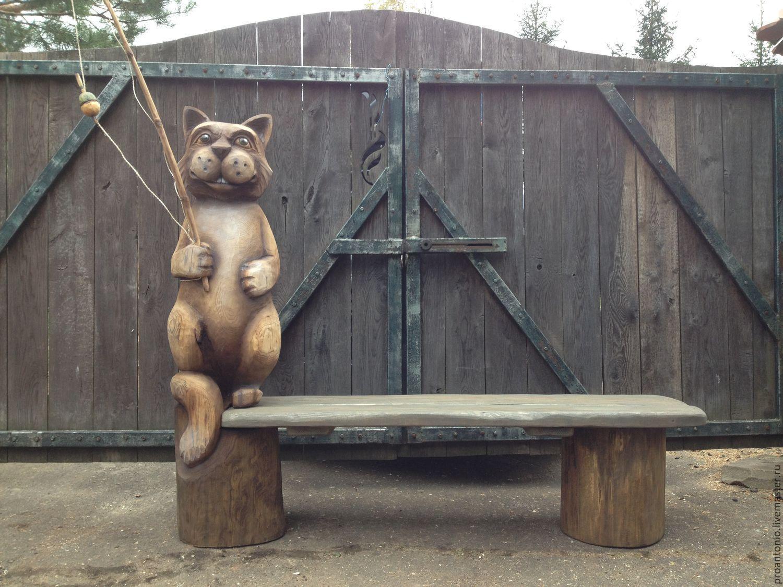 Деревянные скульптуры бензопилой — фото