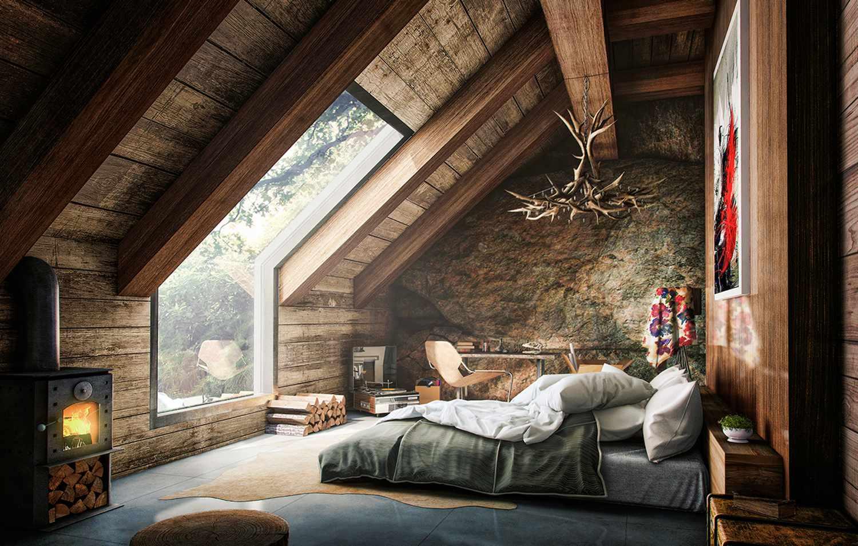 Уютные интерьеры домов 11