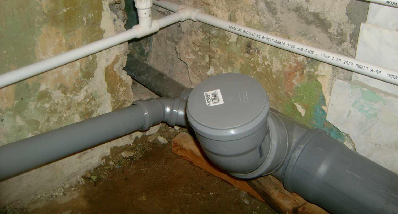 Советы по замене канализации