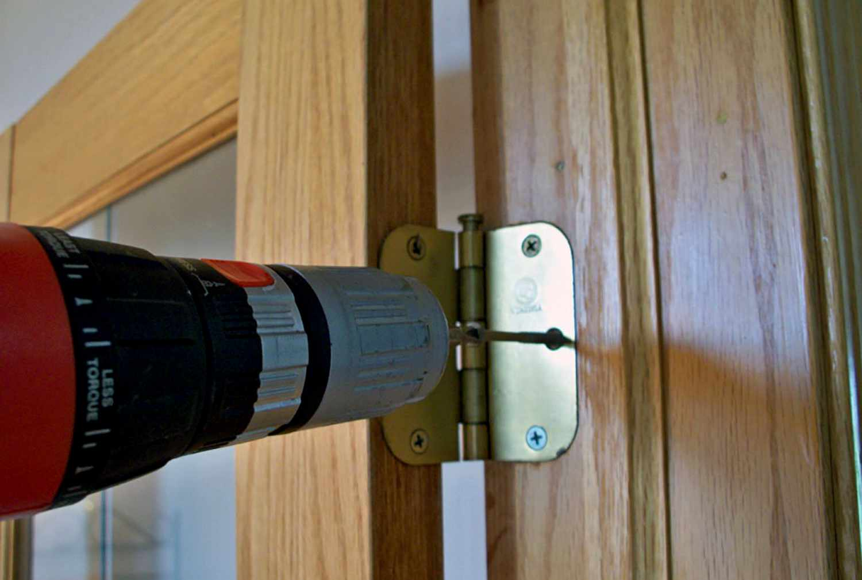 Исправление дефектов двери 4