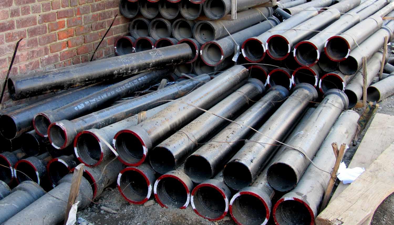 Основные свойства чугунных труб
