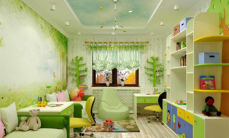 Обустраиваем детскую комнату