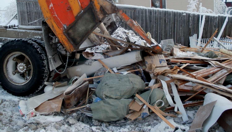 Строительный мусор и варианты использования