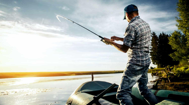 Надувная лодка — любимица рыболовов