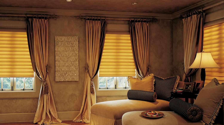 Как правильно подобрать цвет шторы к интерьеру