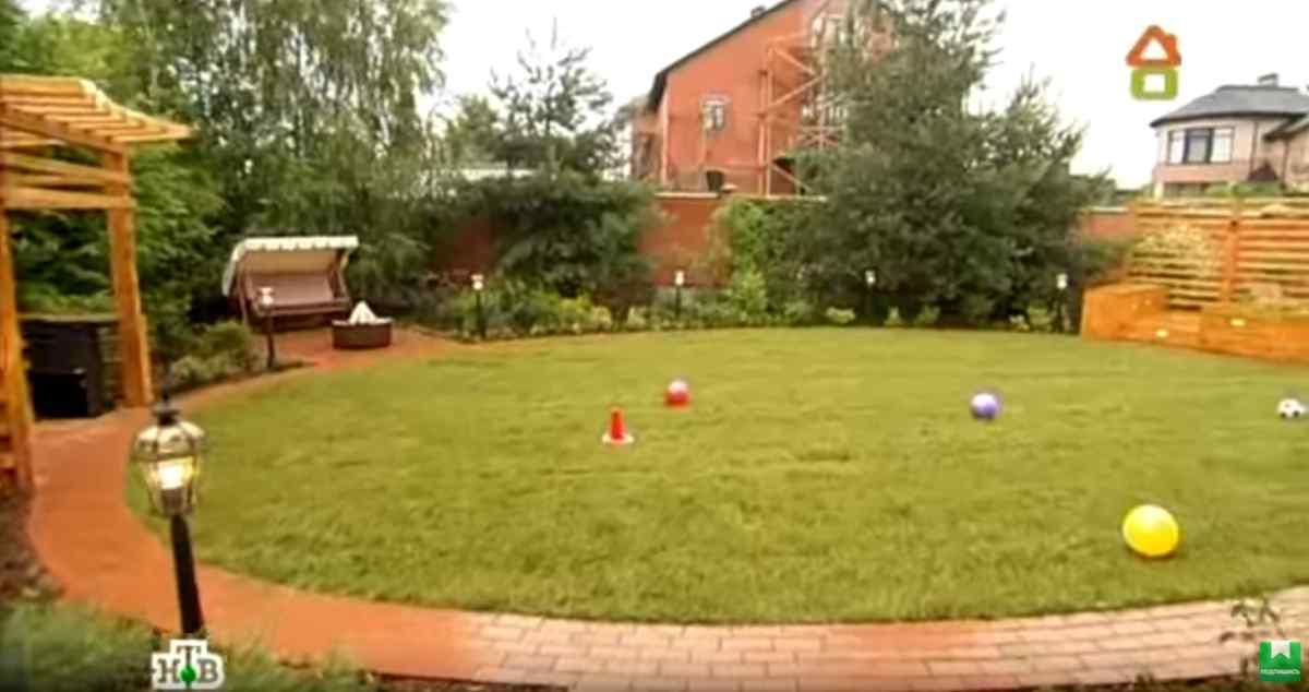 Сад расходящихся тропок на шести сотках — видео