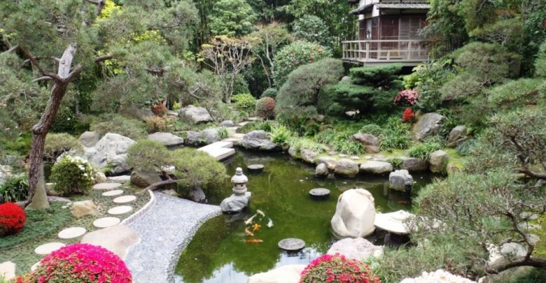 Японский стиль в создании сада