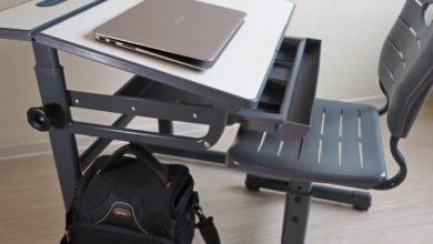 Универсальная школьная парта для ноутбука домой
