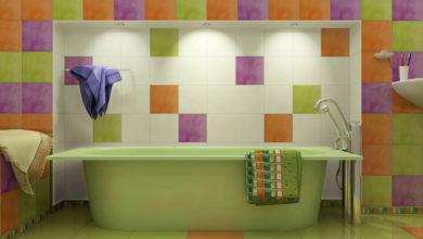 Разнообразие плитки в ванную комнату