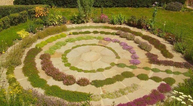 Создание сада-лабиринта