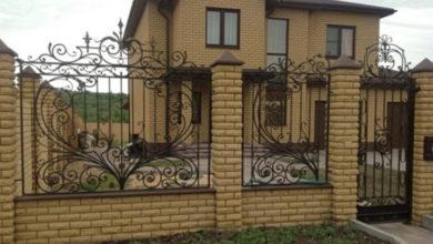 Кованые заборы для загородного дома