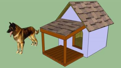 Как построить собачью будку?