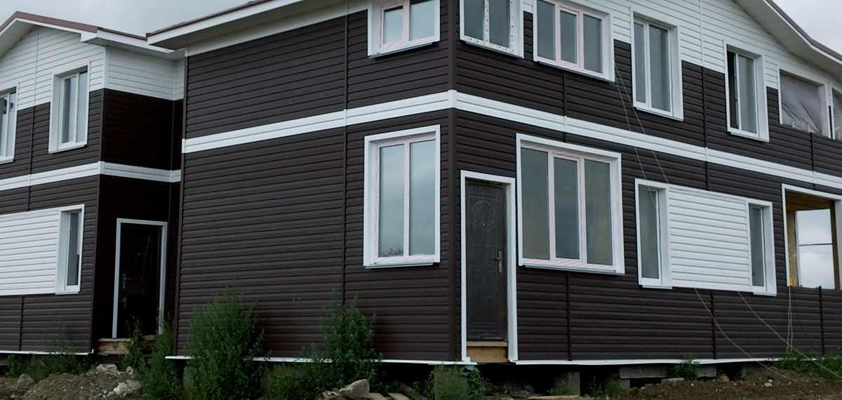 Сайдинг для отделки фасада дома