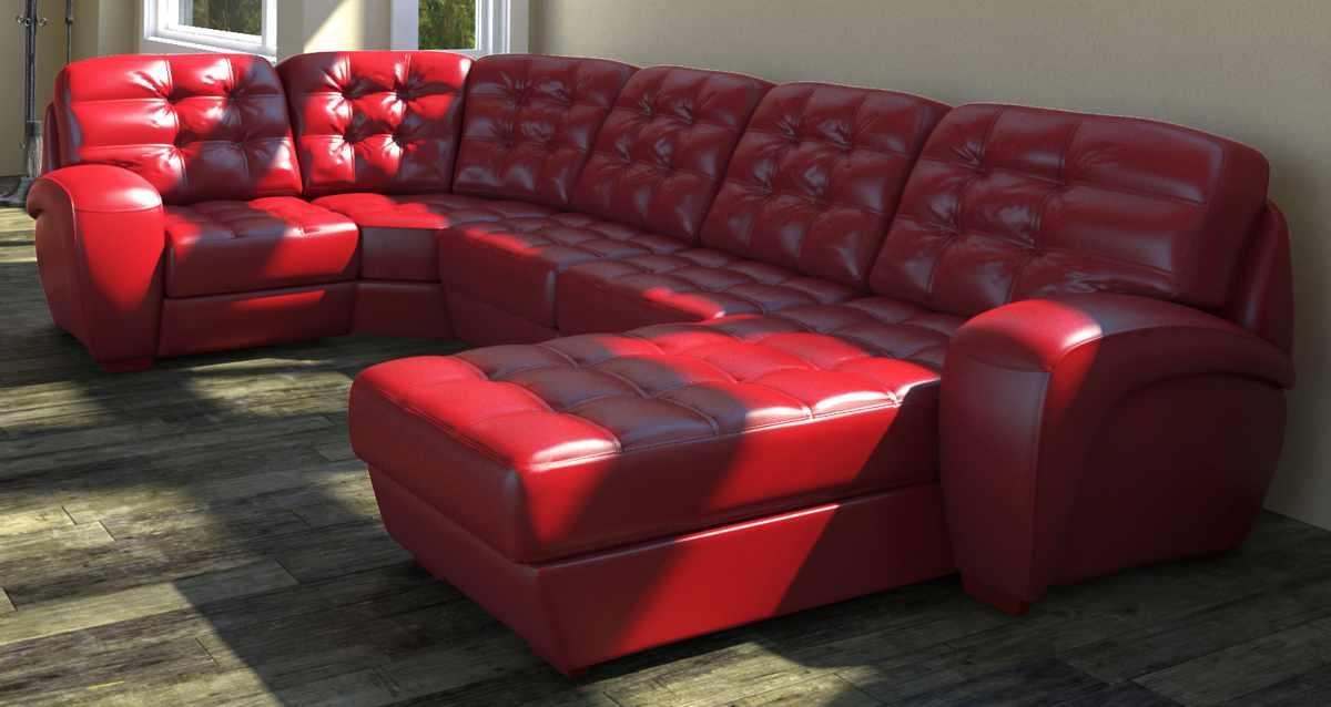 Угловой диван для любителей удобств