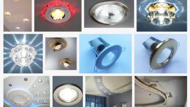 Требования для встраиваемых светильников