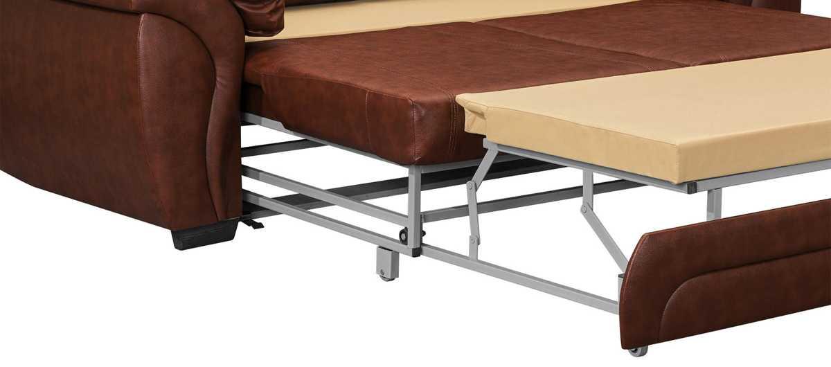 Виды мягкой мебели: раскладные диваны