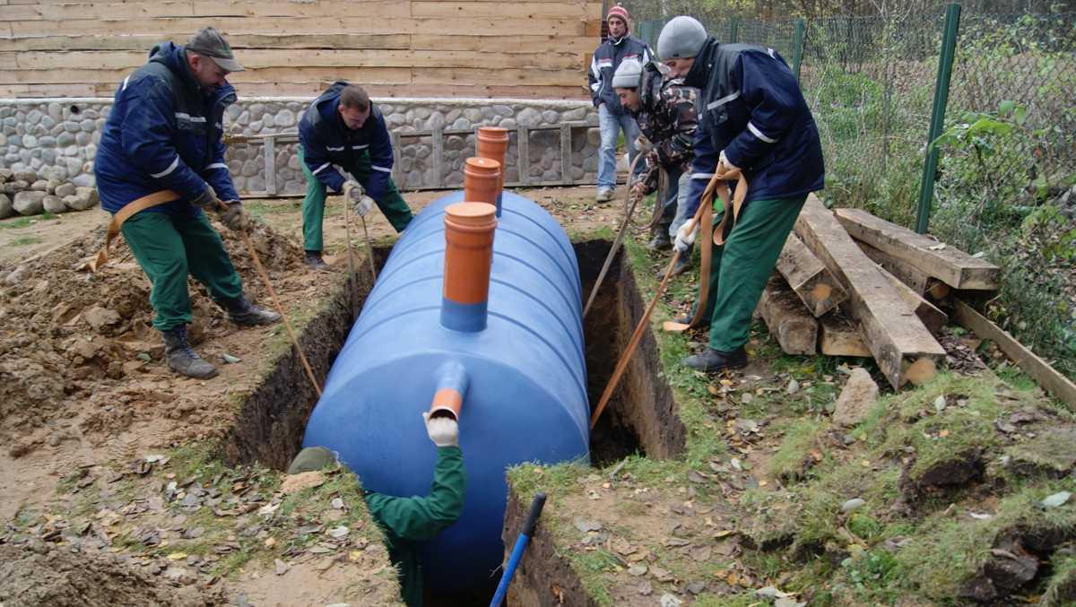 Как найти фирму для установки канализации?