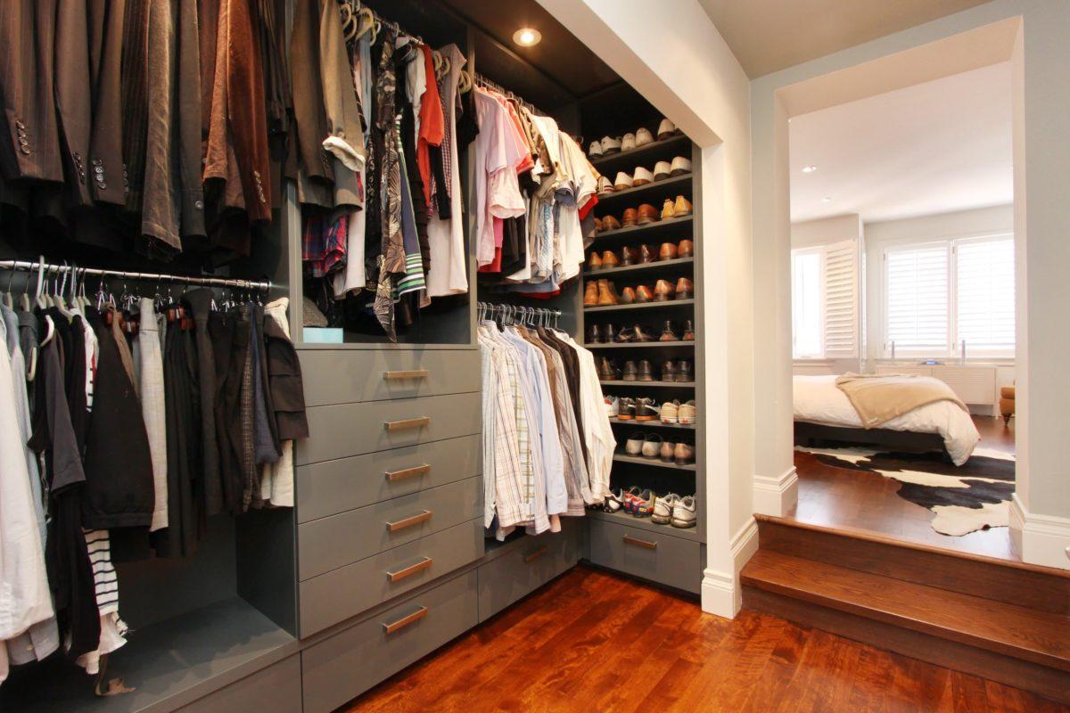 Идеи дизайна гардероба для мужчины
