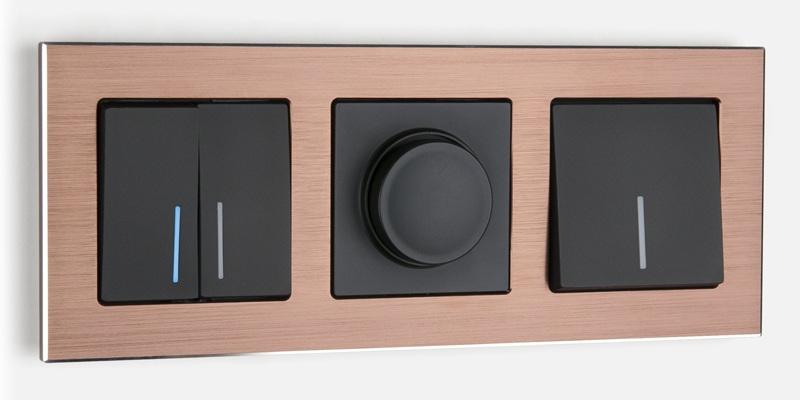 Дизайнерские выключатели и розетки