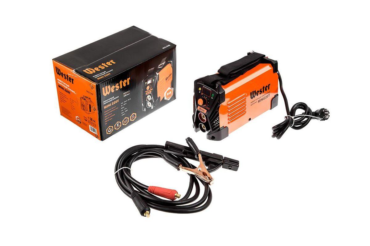 Сварочный аппарат Wester MINI 220T - характеристики, отзывы
