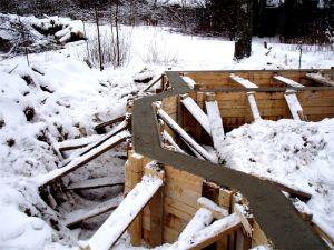 Можно ли заливать бетон зимой