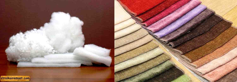 Виды обивочных материалов для мягкой мебели