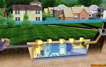 Типы систем для отвода сточных вод