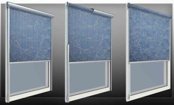 Рулонные тканевые шторы