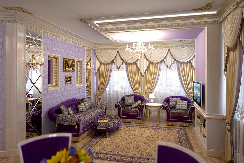 Как подобрать текстиль для гостиной