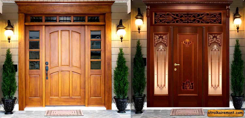 Как выбрать входную дверь для дома - три правила