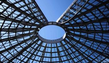 Металлические конструкции в дизайне зданий