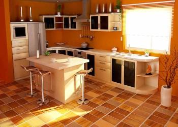 Напольные кухонные покрытия