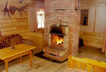Отопление дачного дома печкой