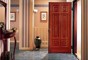 Однолистовые металлические двери
