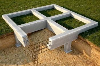 Столбчатый фундамент для дома