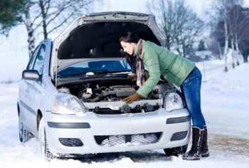 Как завести замерзший автомобиль