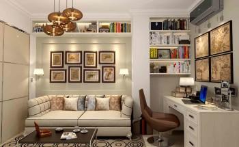 Правильное оформление комнаты без окна