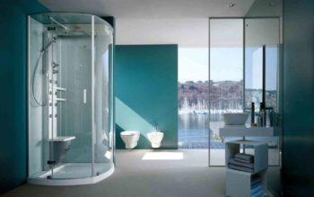 Типы душевых кабин для ванной комнаты