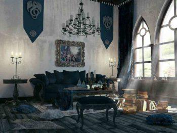 Интерьер дома в стиле готика