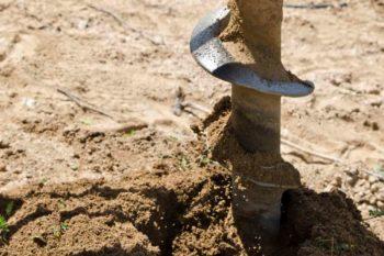 Бурение песчаной скважины