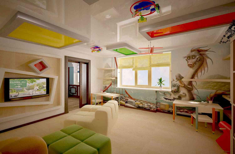 Натяжные потолки - и их особенности