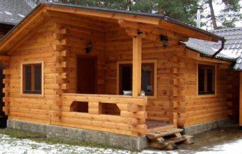 Деревянная баня из бруса