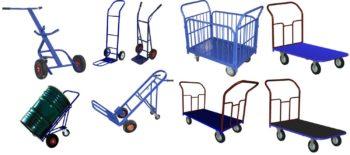 Разновидности грузовых тележек
