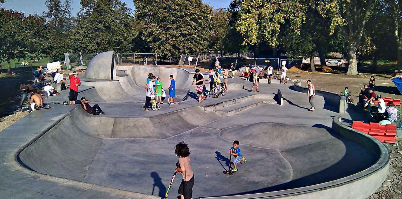 Как сделать скейт-парк