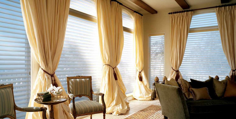 подобрать цвет шторы к интерьеру