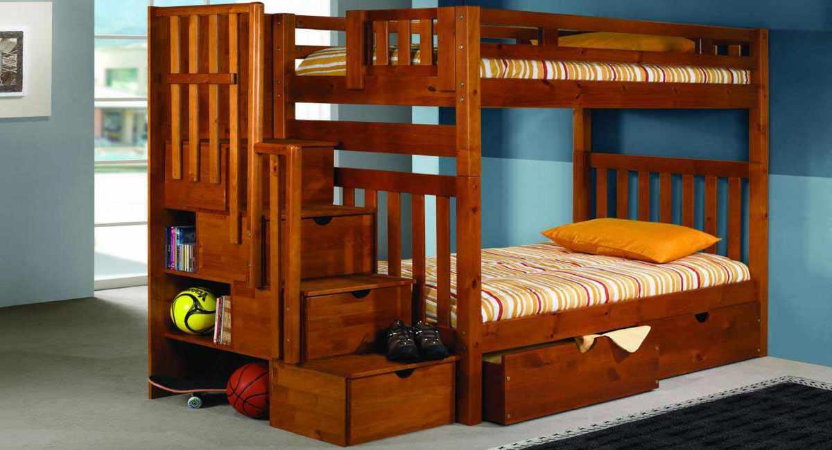 Как подобрать хорошую двухъярусную кровать для ребенка